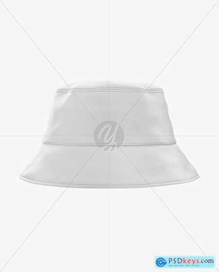 Bucket Hat Mockup - Front View 58733