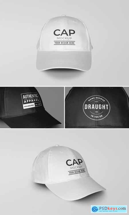 Baseball Sports Cap Mockup 346956531
