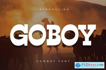 Go Boy - Cowboy Font