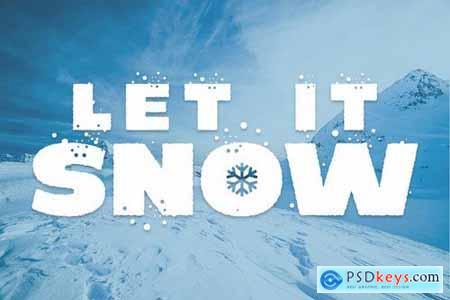 Coolest - Icy Frozen Font
