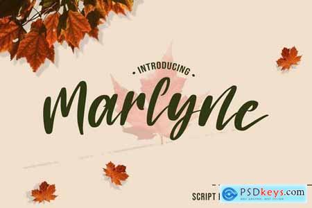 Marlyne - Script Font