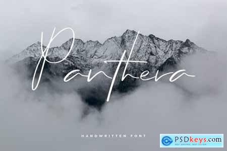 Panthera - Hand Lettering Script