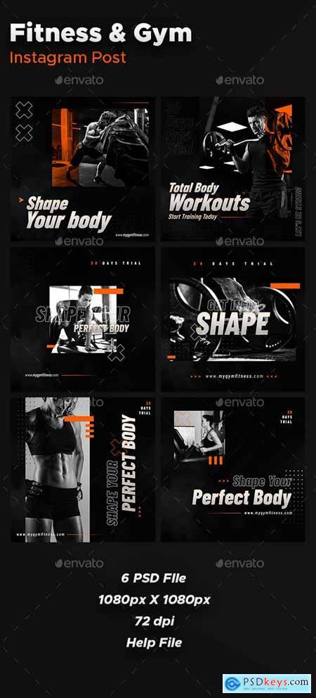 Instagram Post fitness 26507846