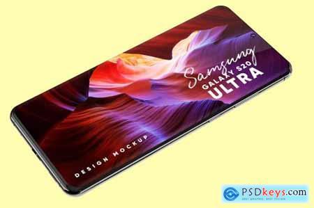 Samsung Galaxy S20 Ultra Mockup 4581899