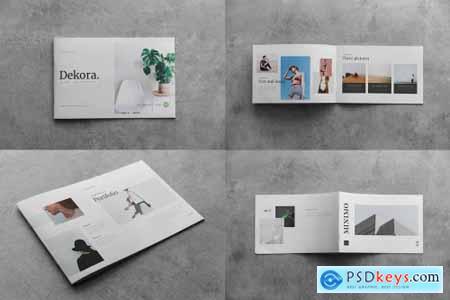 Landscape Brochure Mock-Up 4586175