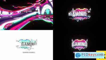 4K Glitch Logo 25578302
