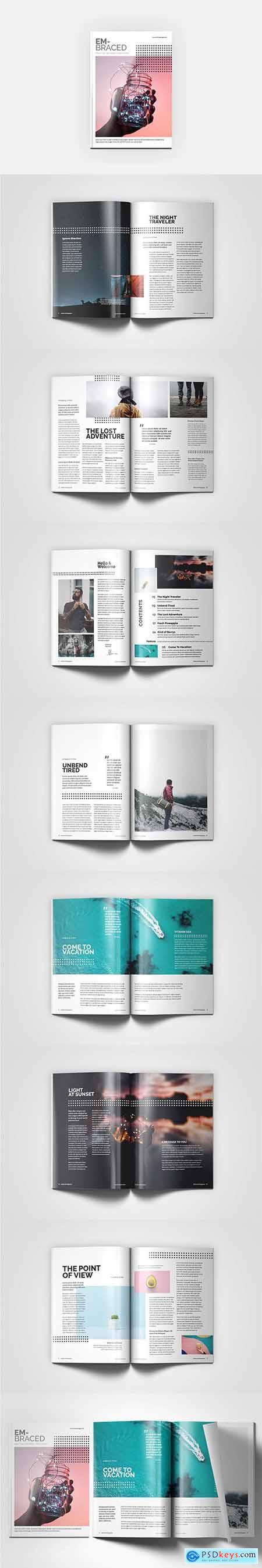 HQ - A4 Embraced Magazine V8