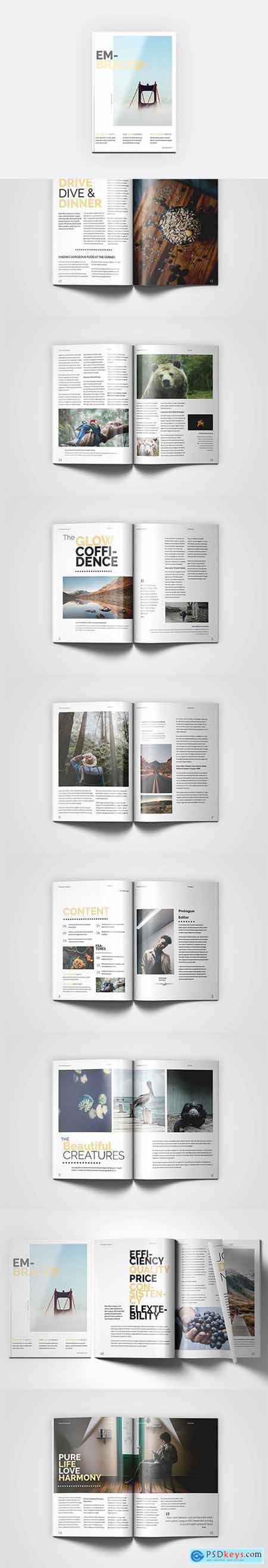 HQ - A4 Embraced Magazine V7