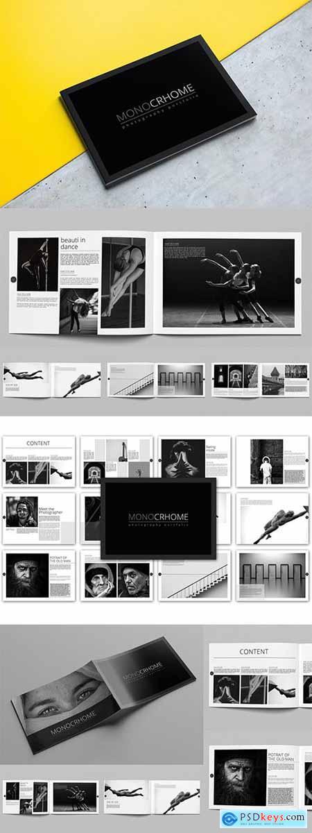 Monochrome Photography Portfolio Template