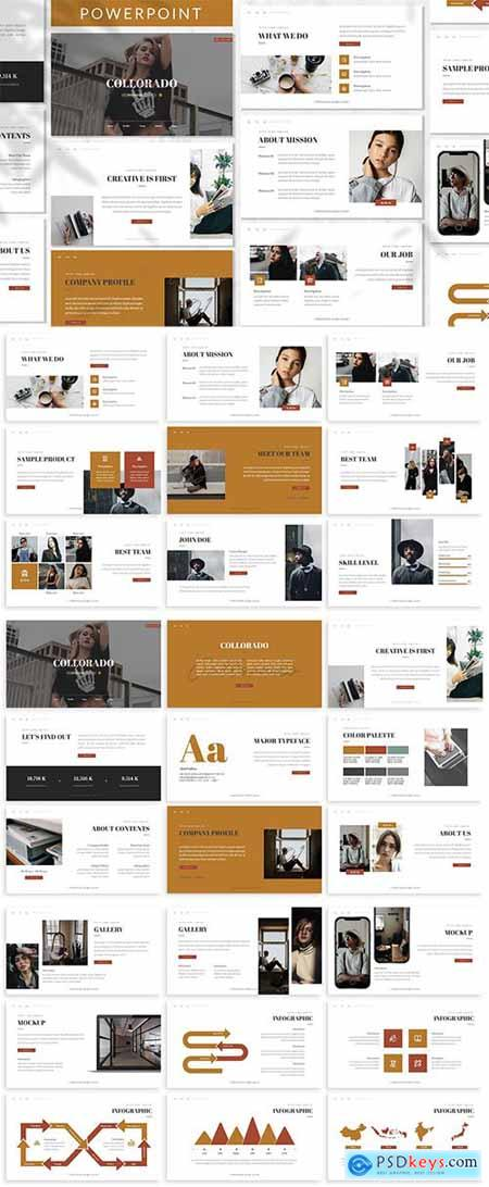 Collorado - Business Powerpoint Template