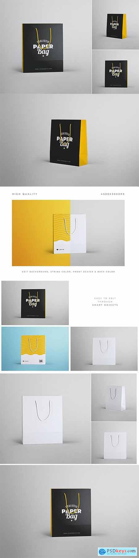 Paper Bag Branding Mockups