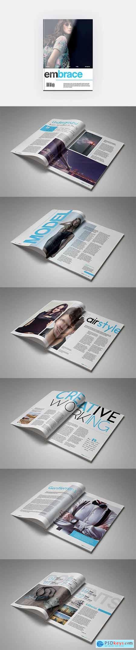 HQ - Letter Embraced Magazine V5