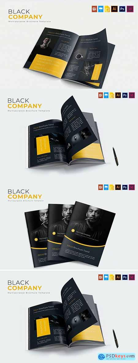 Black Company - Brochure Template
