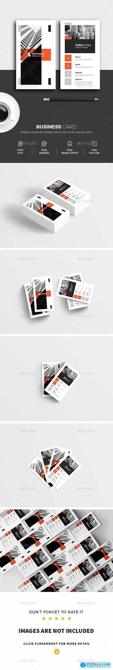 Minimal Creative Business Card 26511835