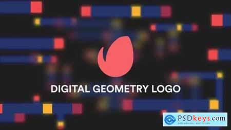 Digital Geometry Logo Reveal 22310291