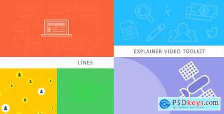 Lines Explainer Video Toolkit 9321006