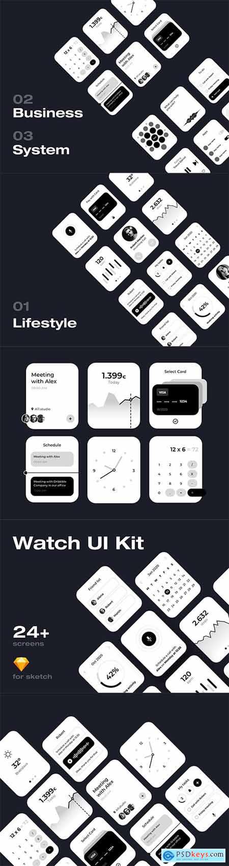 Apple Watch UI Kit