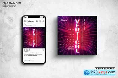Event Square Flyer & Social Media Post Design920