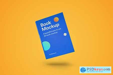 3D Book Mockup 04