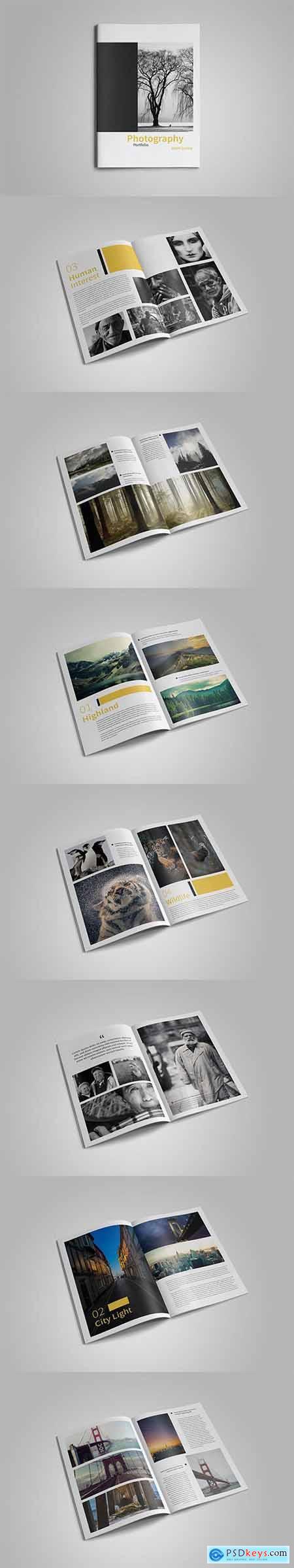 HQ - A4 Photography Portfolio V1