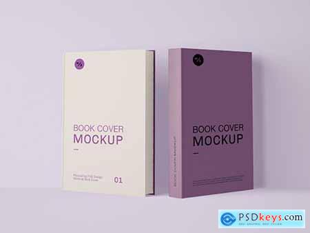 Two Book Covers Mockup 346305679