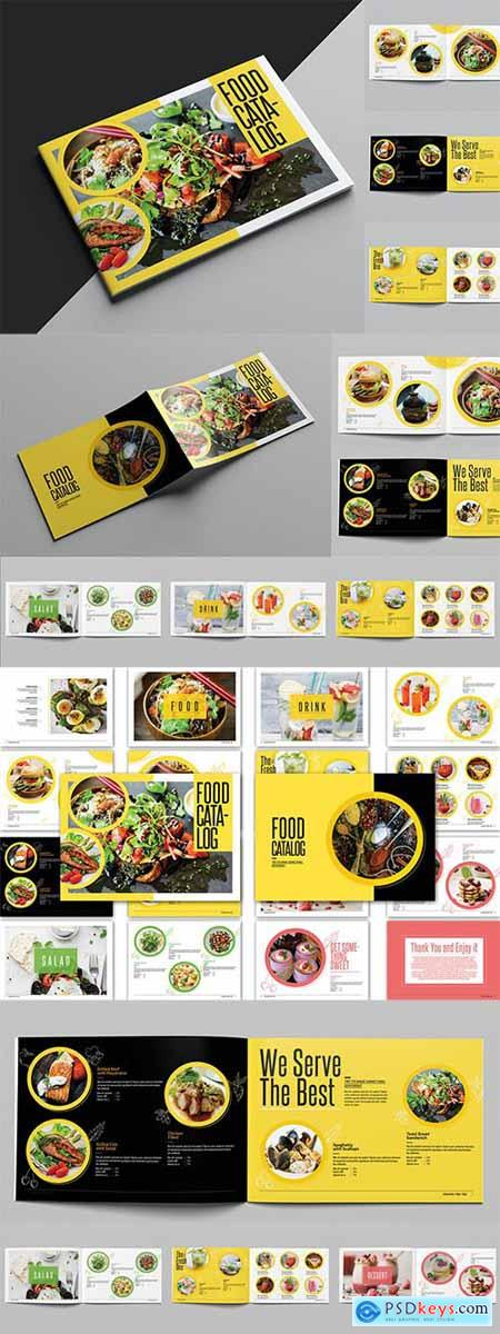 Food Catalog Template