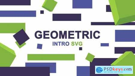 Geometric Logo Intro SVG 21969779
