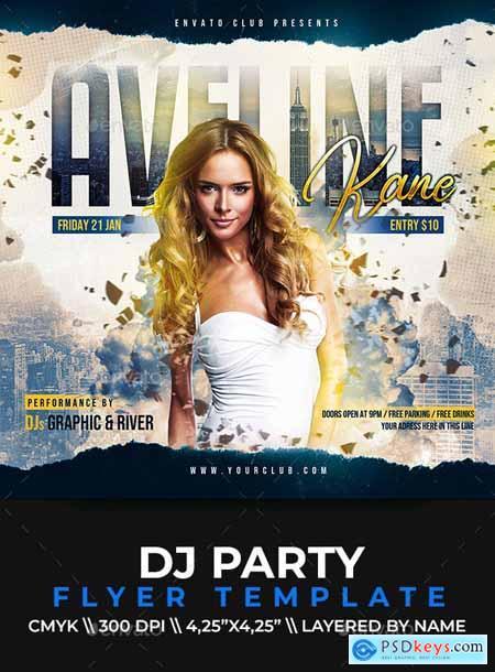 DJ Party Flyer 25489251