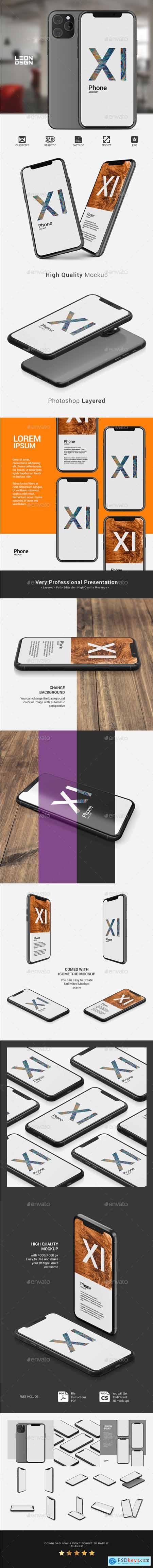Phone 11 - App Presentation Mockup 25574211