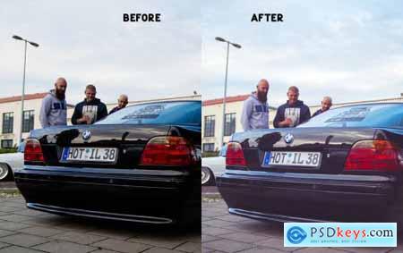 Moody Car Preset 4823086