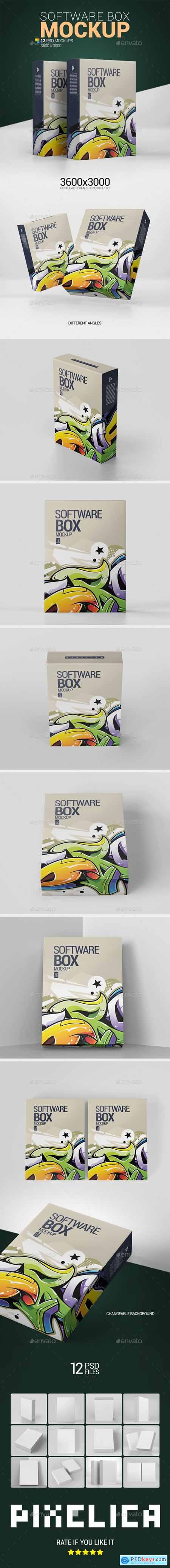 Software Box Mockup 25568629