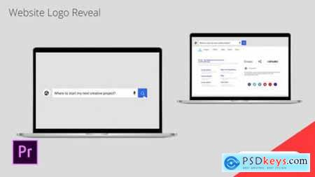 Website Logo Reveal Premiere Pro Template 26401788