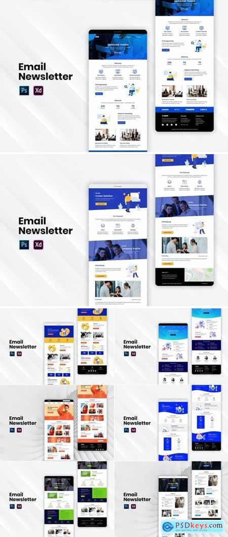 Email Newsletter Bundle 6