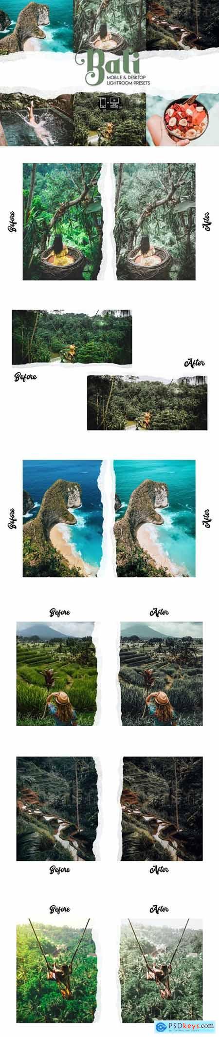 Bali Lightroom Presets