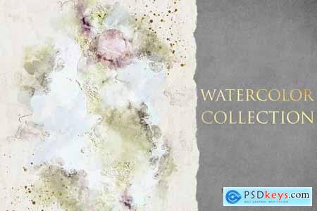 Abstract Watercolor Collection Graphic 2
