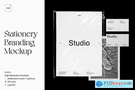 (NEW) Stationery Branding Mockup 4880278
