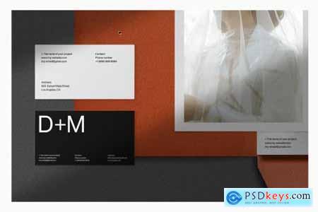 Folder Stationery Branding Mockup 4116781