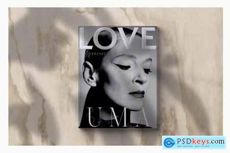 Magazine Cover Mockup 3748554