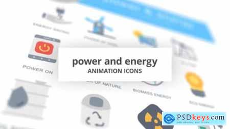 Power and Energy Animation Icons 26634686