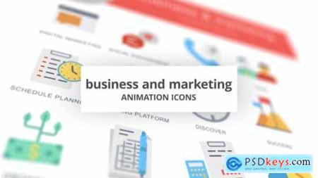Business and Marketing Animation Icons 26634384