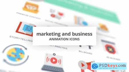 Marketing and Business Animation Icons 26634668