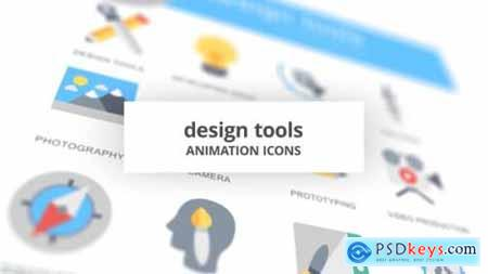 Design Tools Animation Icons 26634463