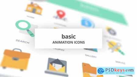 Basic Animation Icons 26634301