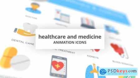 Healthcare and Medicine Animation Icons 26634633