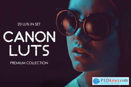 Canon video LUTs 3997813