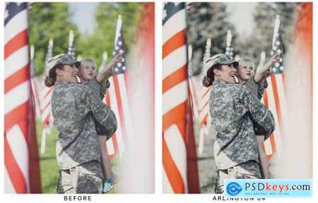 20 Memorial Day Lightroom Presets and LUTs
