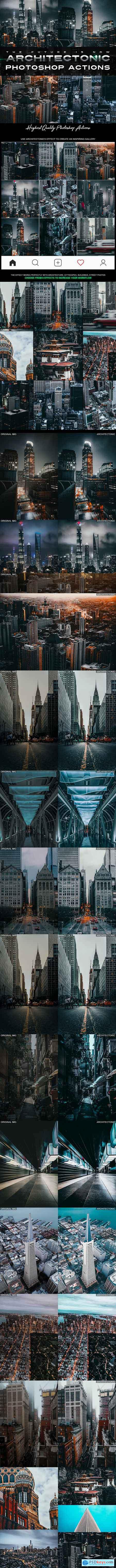Architectonic Photoshop Actions 24890676