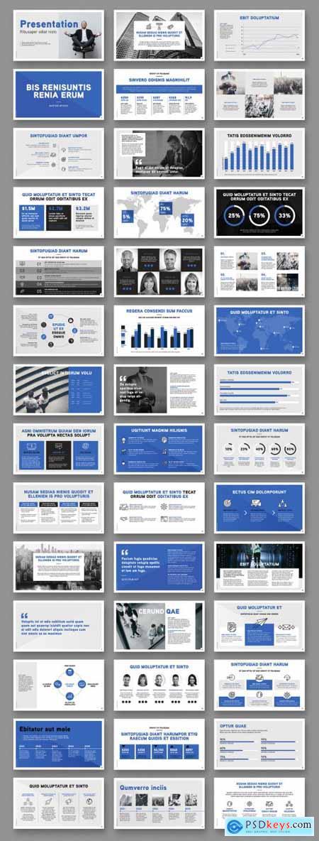 Business Presentation Layout 349000770