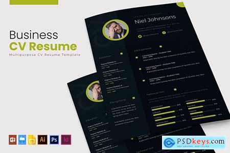 Business - CV & Resume