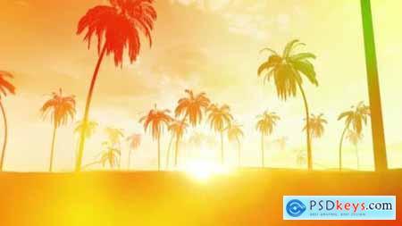 Summer Sunset Background 26643508